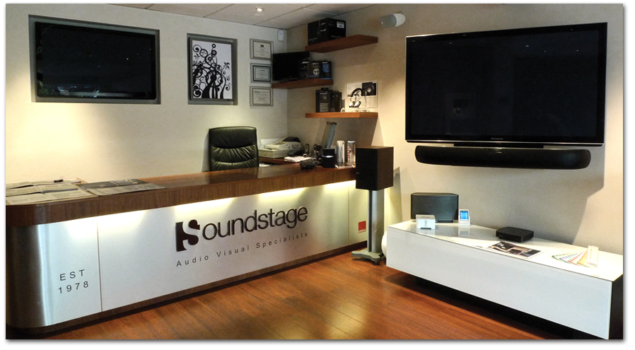Soundstage, Hertfordshire Shop