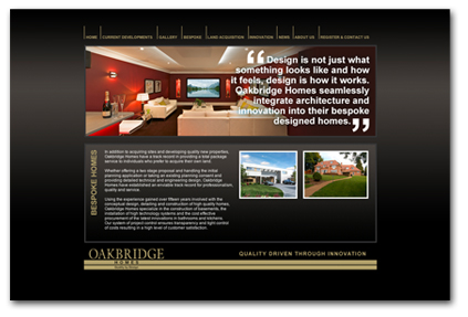 property deveopler website design
