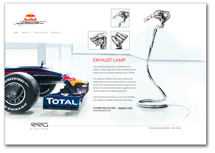 Red Bull Racing F1 Exhaust Lamp